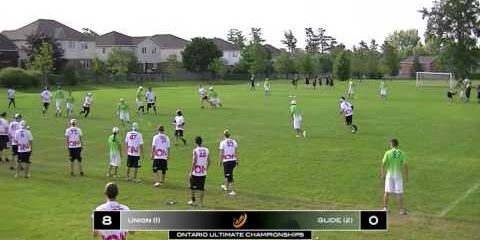 Video – 2013 Ontario Ultimate Championships Semi-Final vs. Glide (Ottawa)